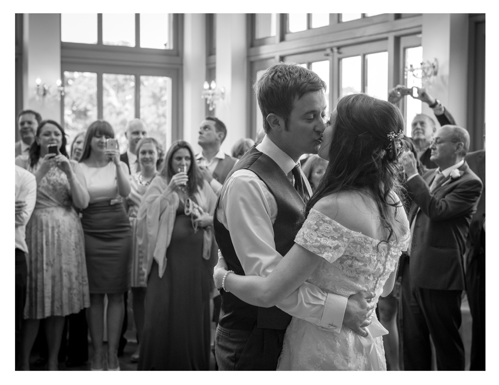 Tracy and Matt's Wedding Photography at Offley House