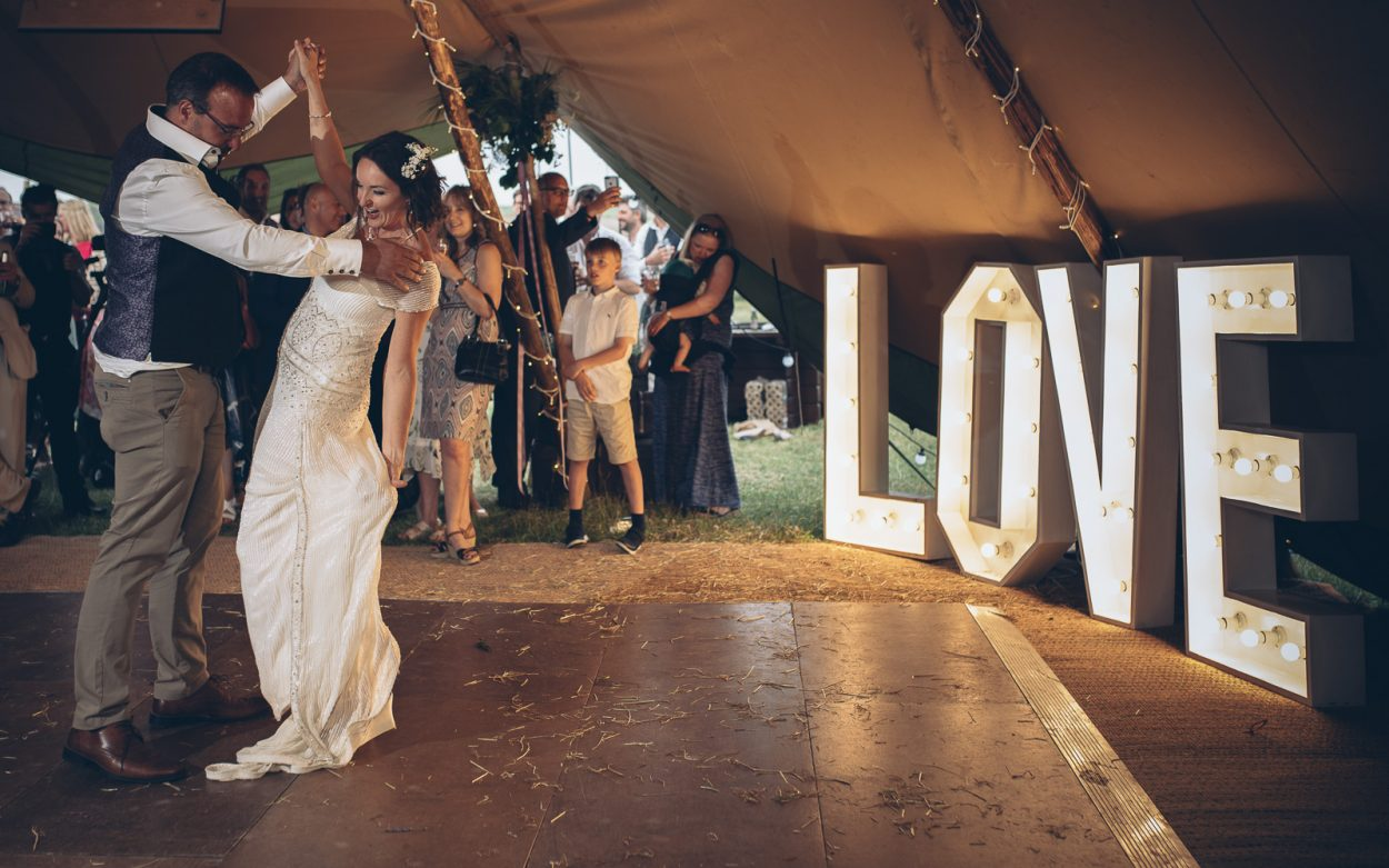 Tipi Wedding Hertfordshire