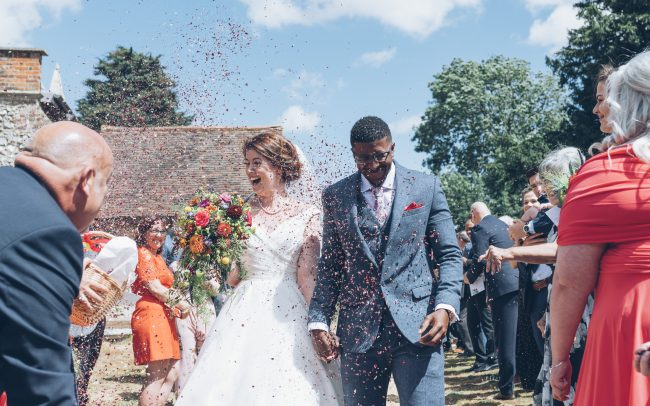 Wedding Offley Church, Hertfordshire