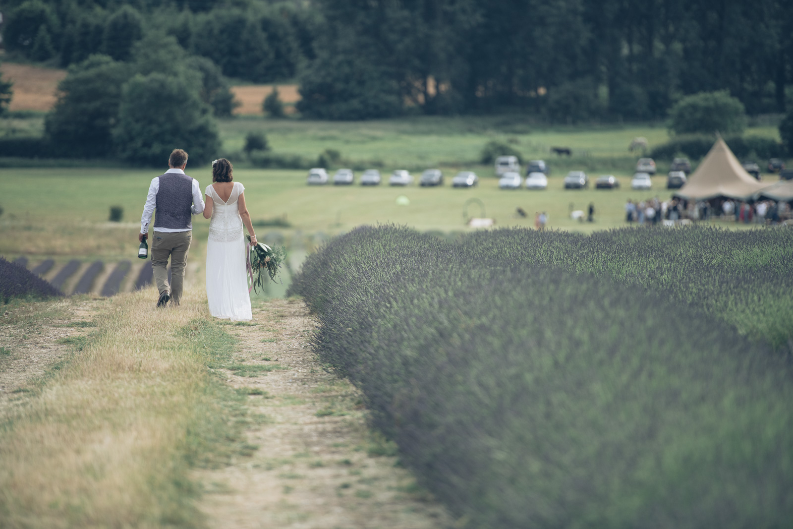 Hitchin Lavender wedding