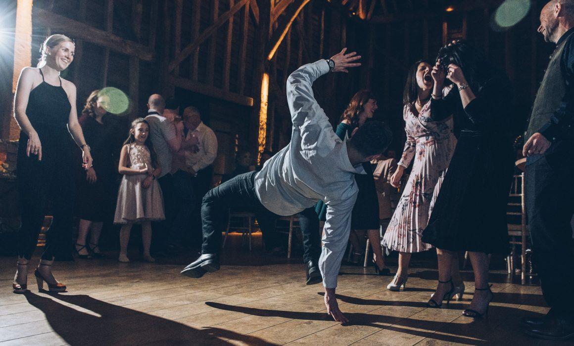 Wedding dancing at Redcoats Hitchin