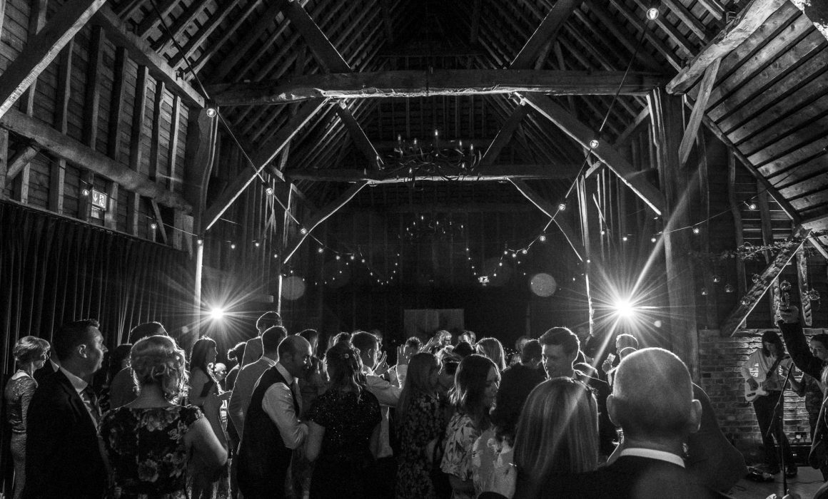 People dancing at The Barn at Redcoats