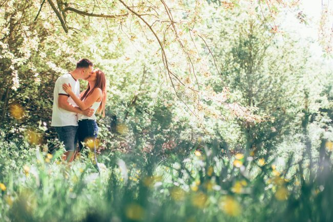 Letchworth Hall engagement shoot