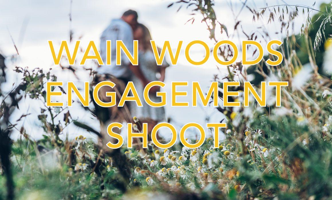 Wain Woods Pre wedding shoot