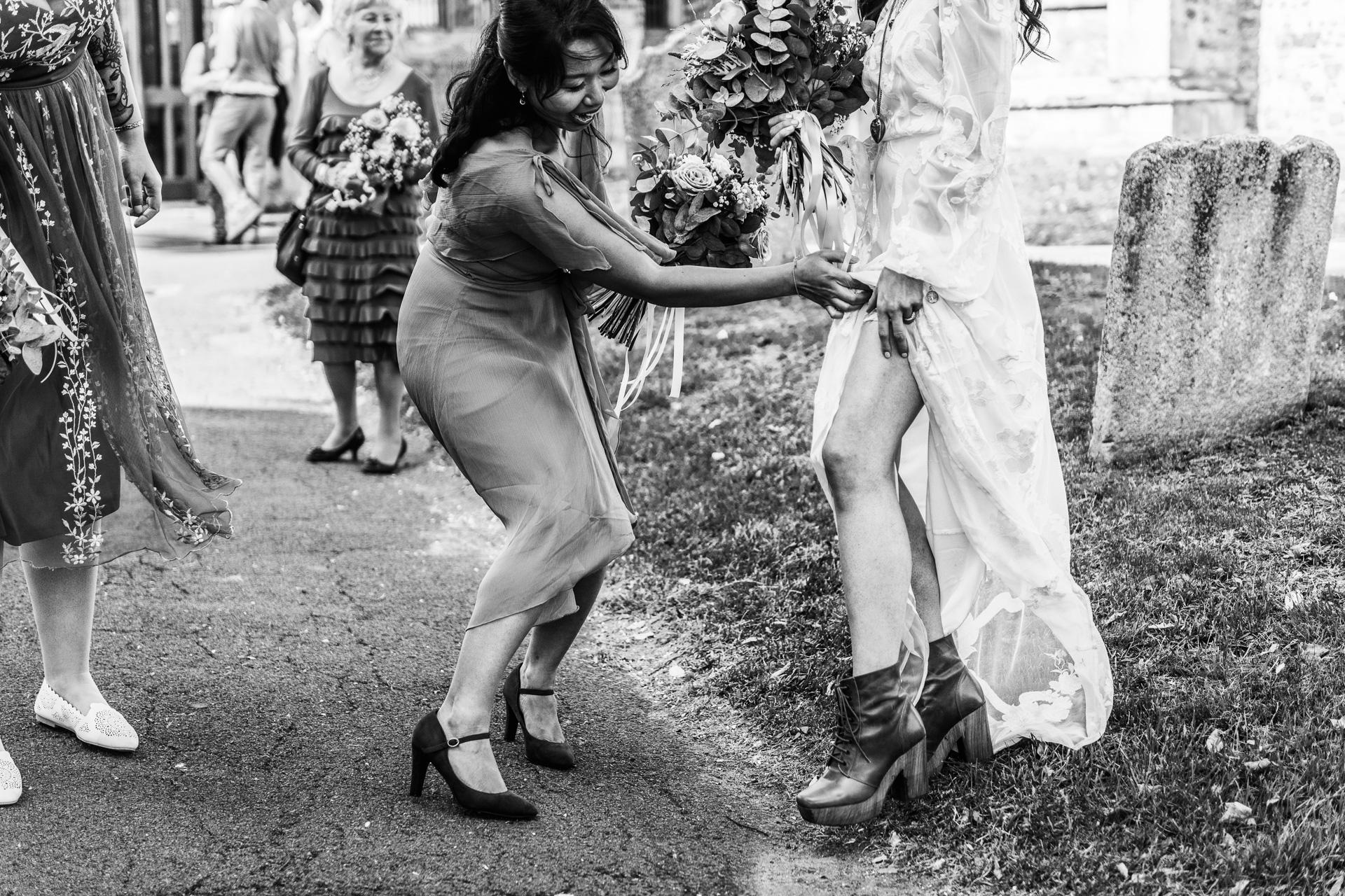 Bohemian Beach Wedding 107