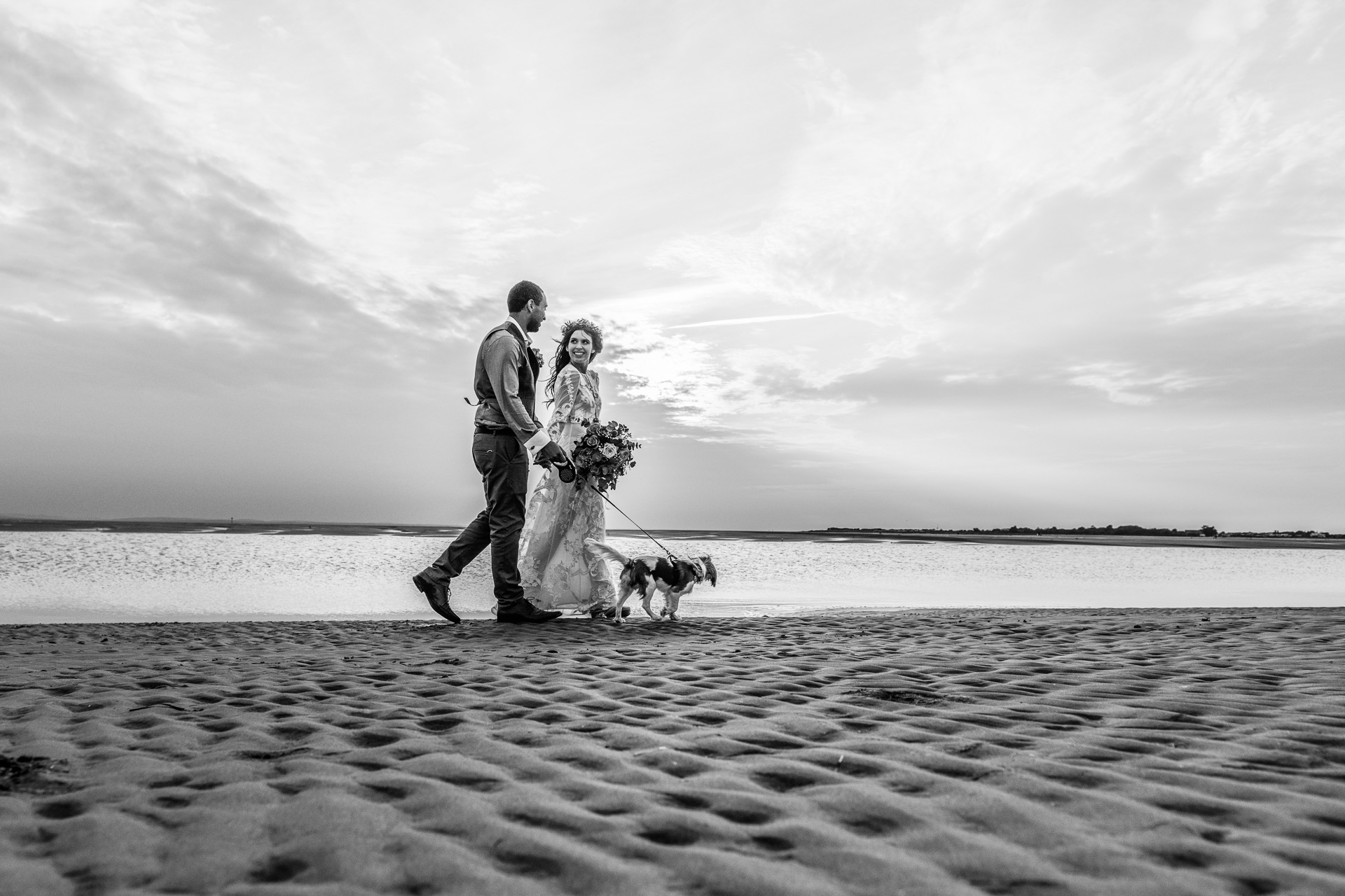 Bohemian Beach Wedding 129