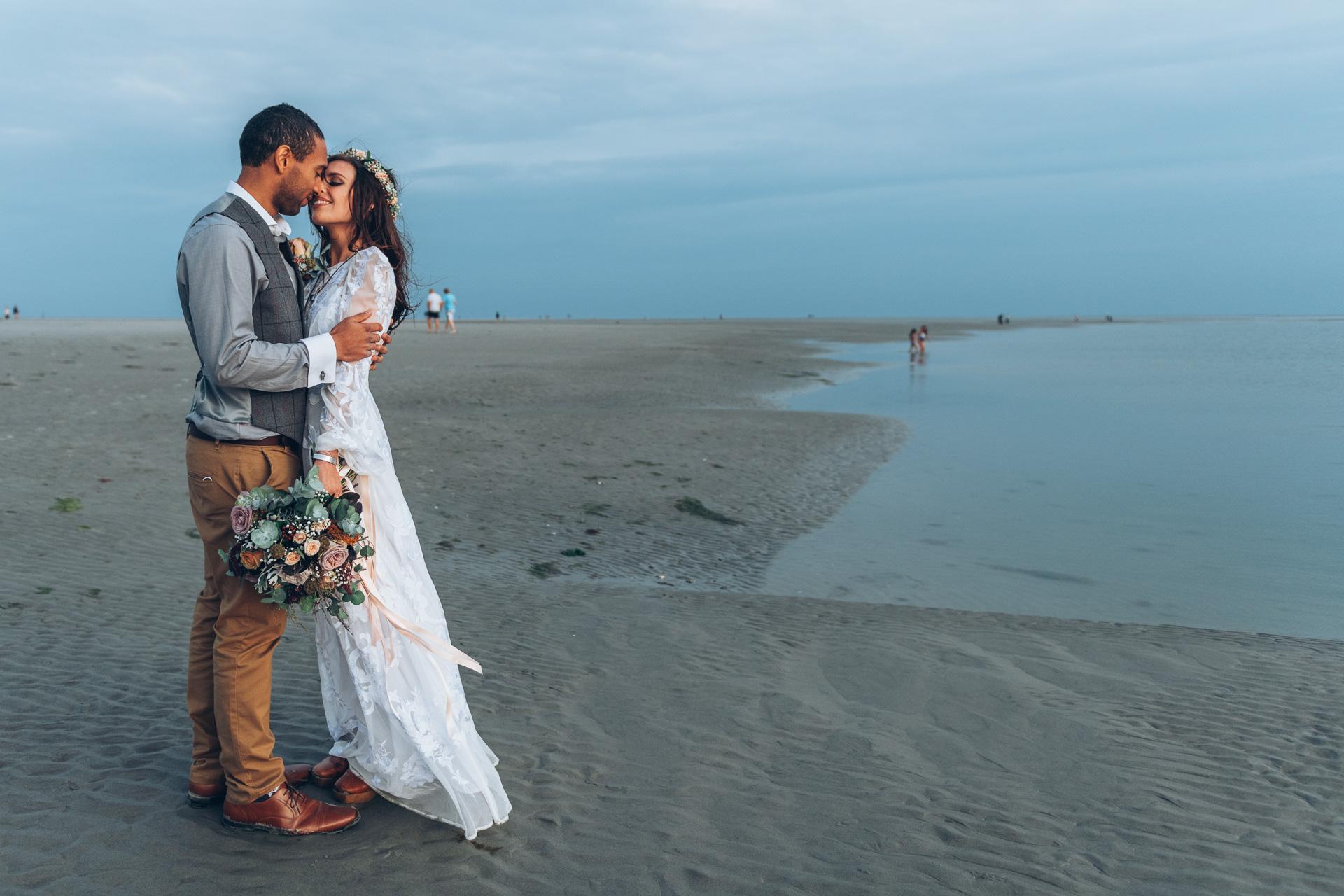 Bohemian Beach Wedding 131