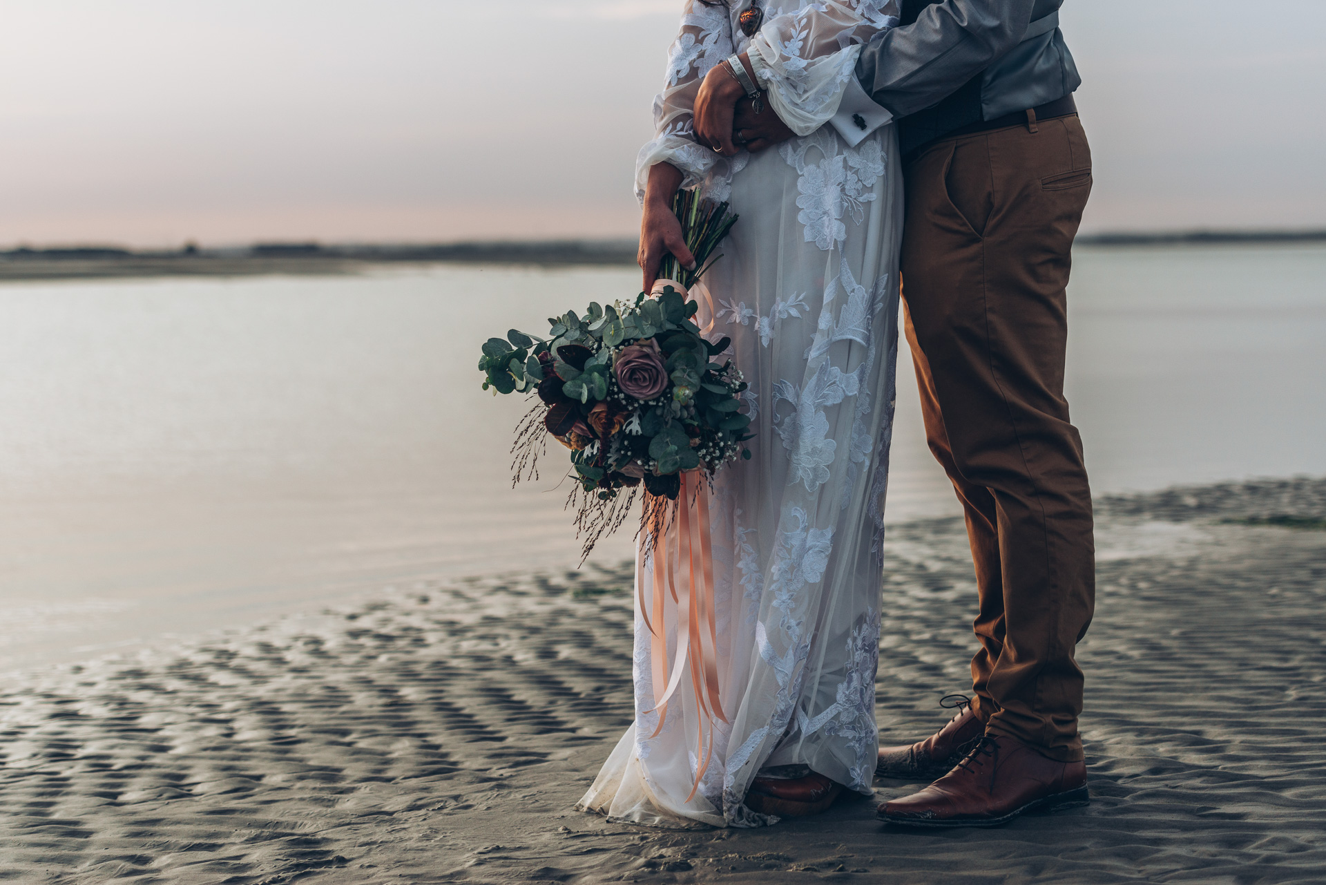 Bohemian Beach Wedding 132