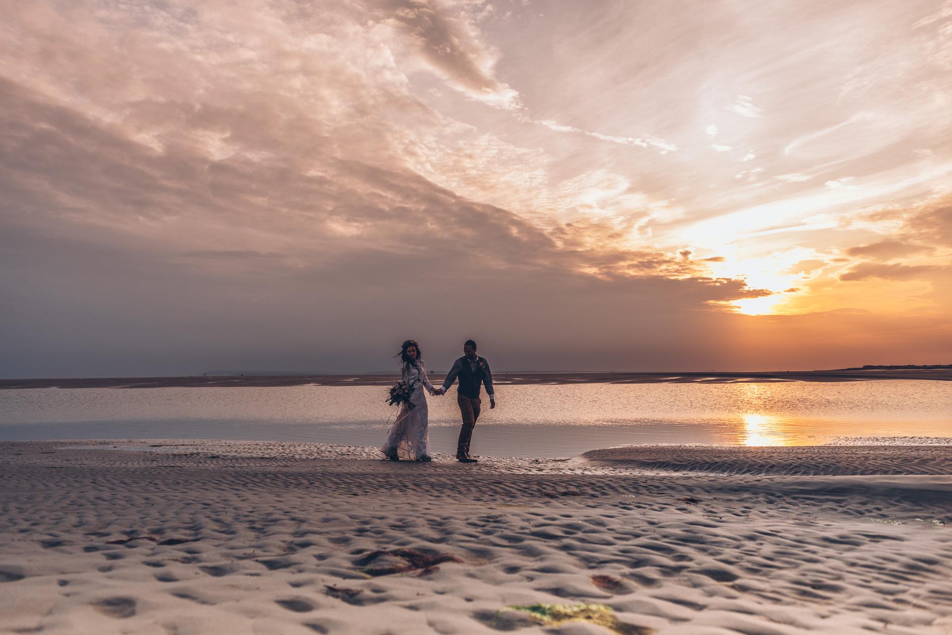 Bohemian Beach Wedding 136