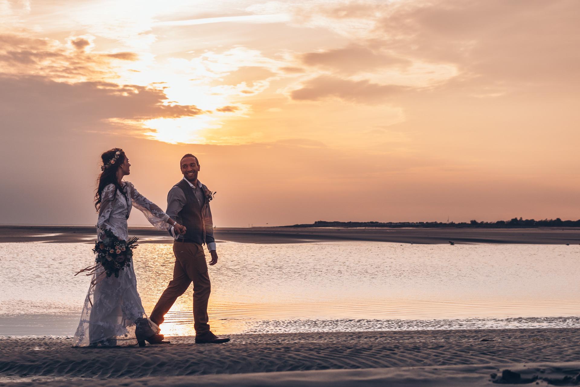 Bohemian Beach Wedding 137