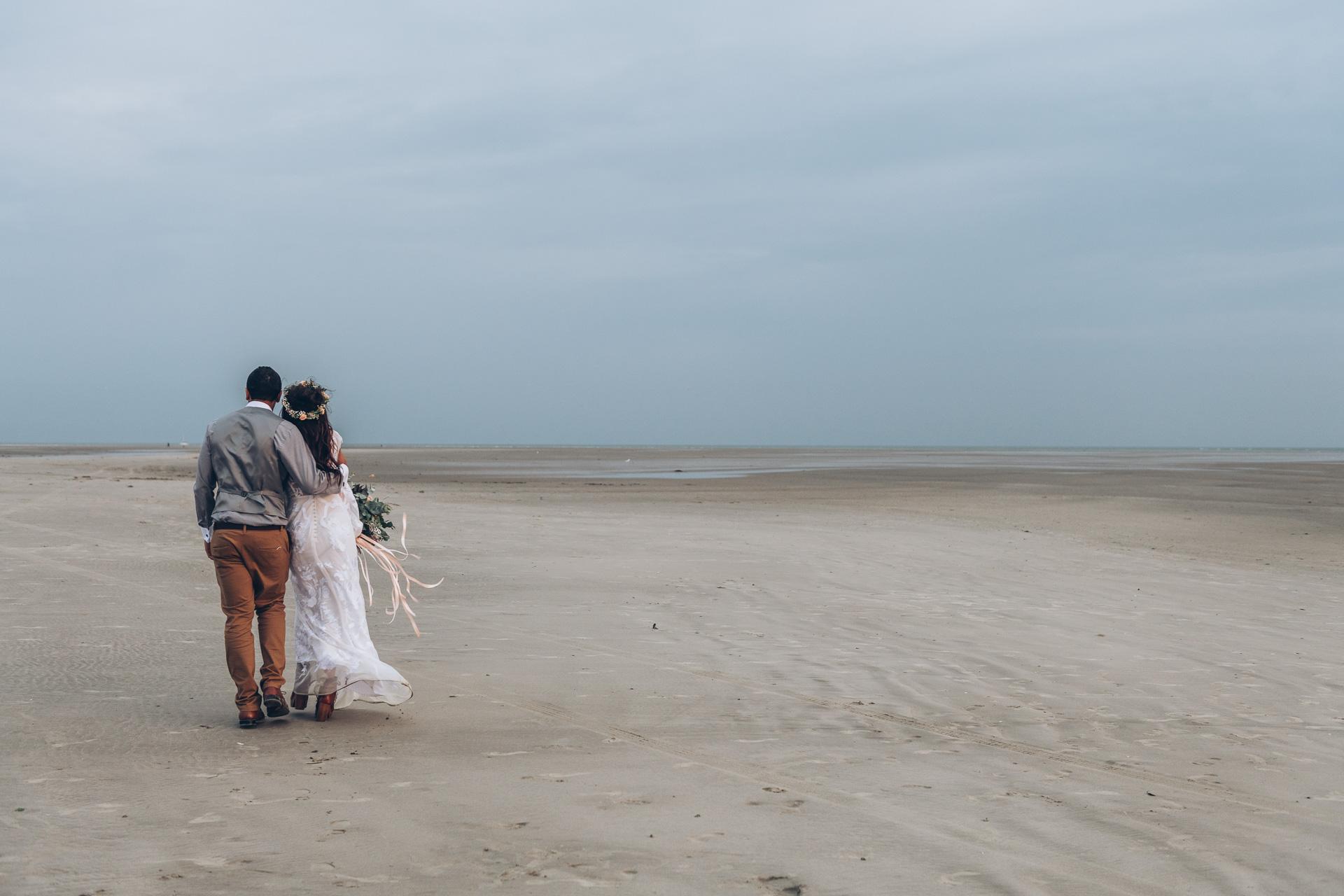 Bohemian Beach Wedding 139