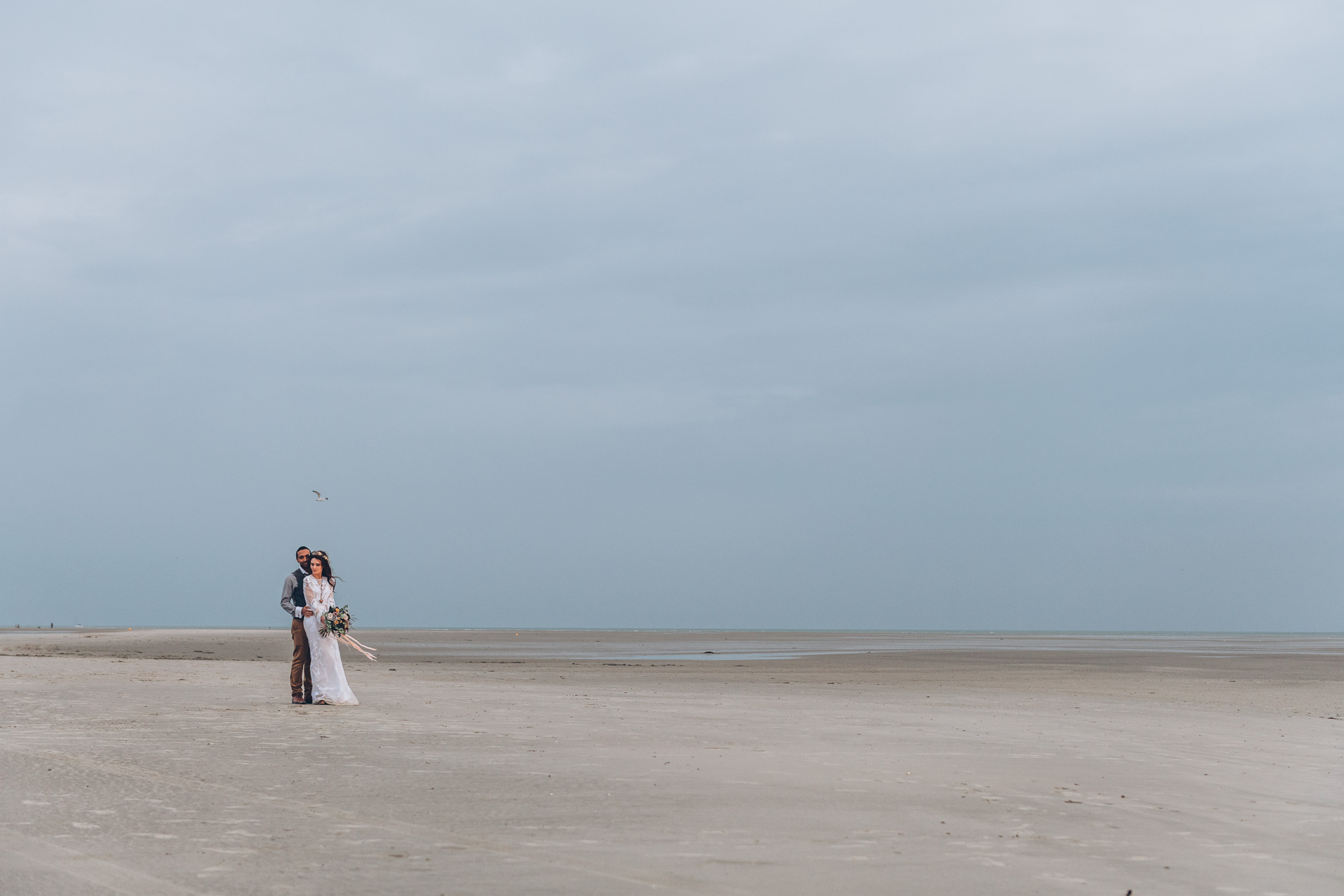 Bohemian Beach Wedding 140