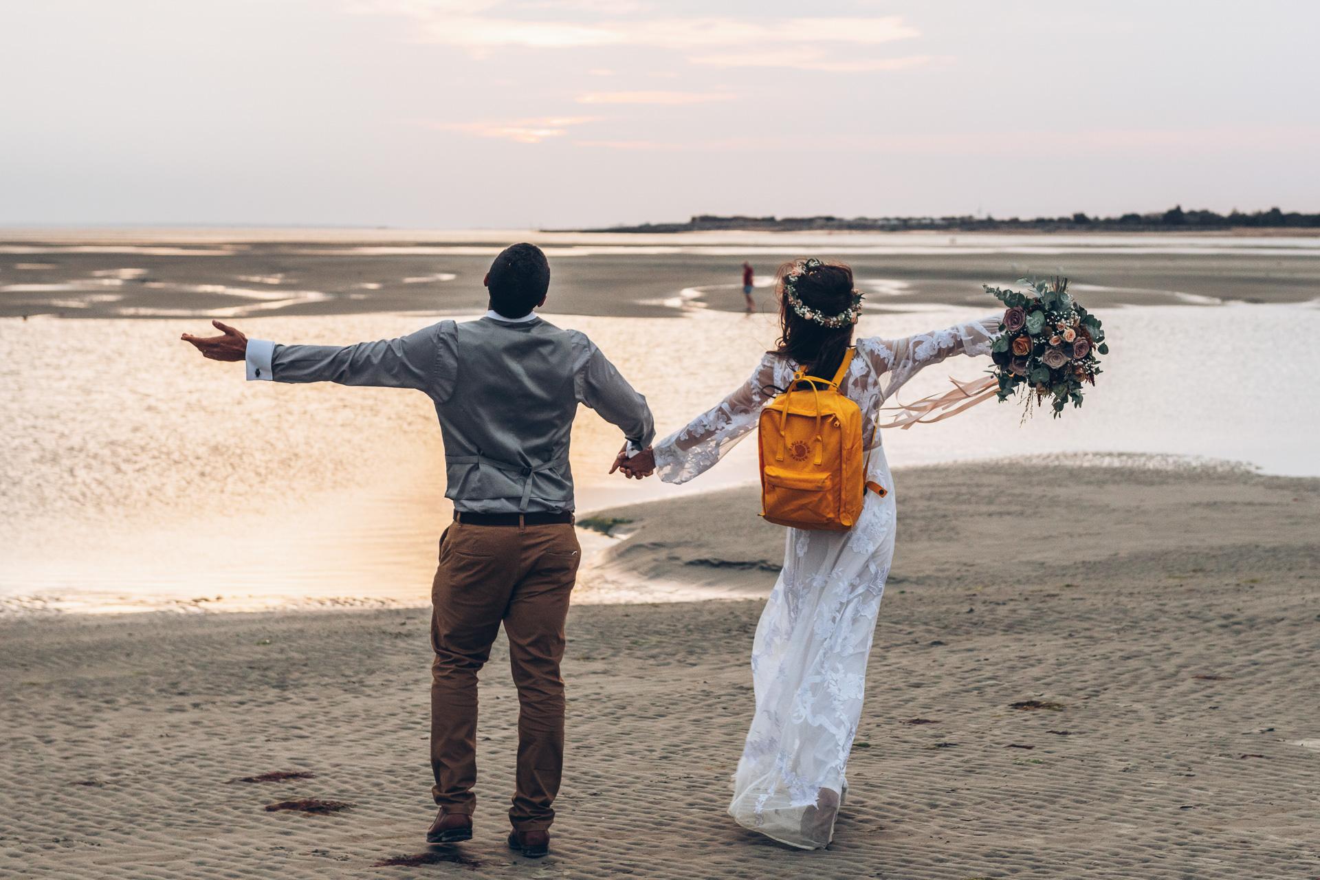 Bohemian Beach Wedding 142
