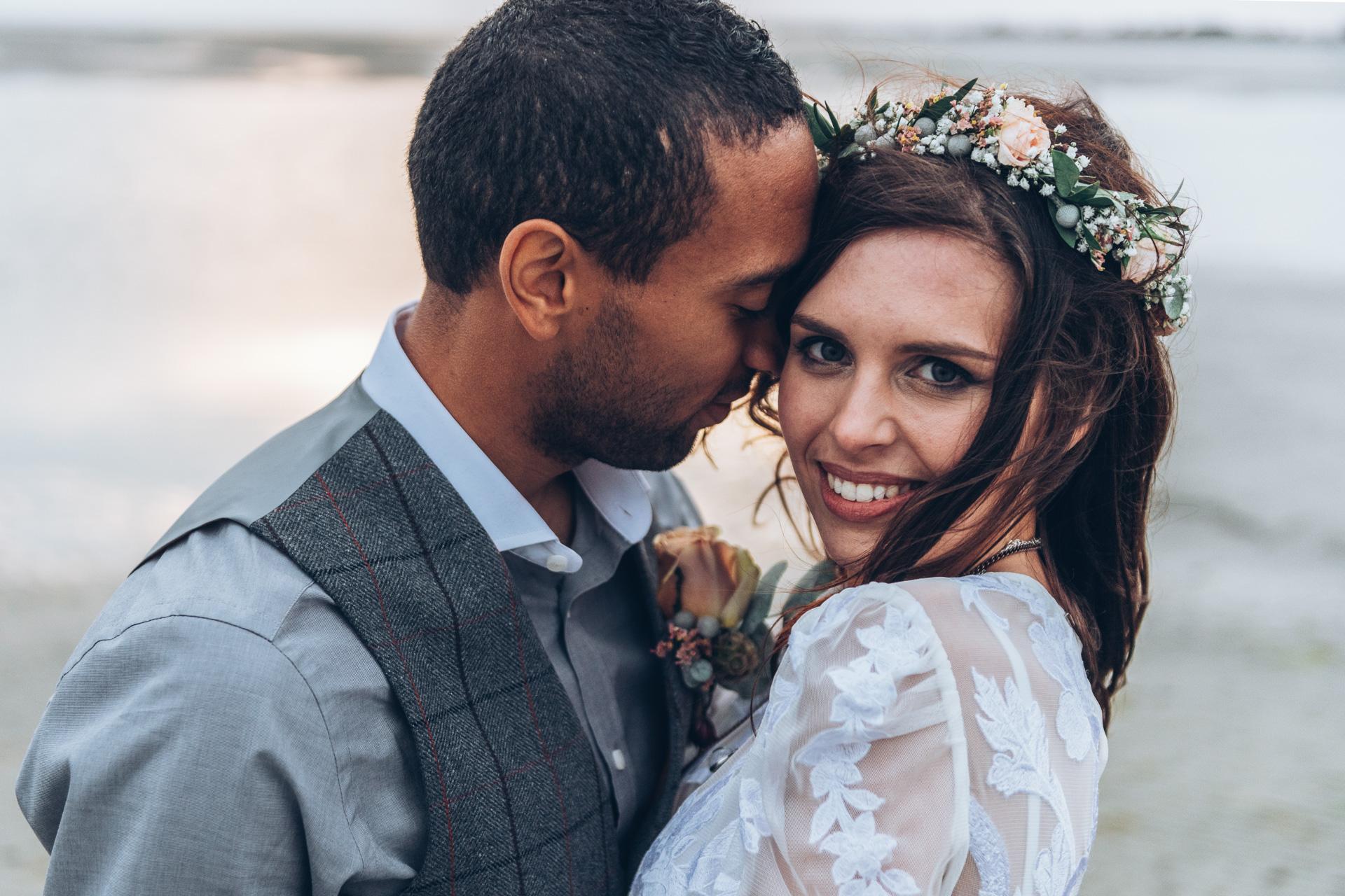 Bohemian Beach Wedding 144