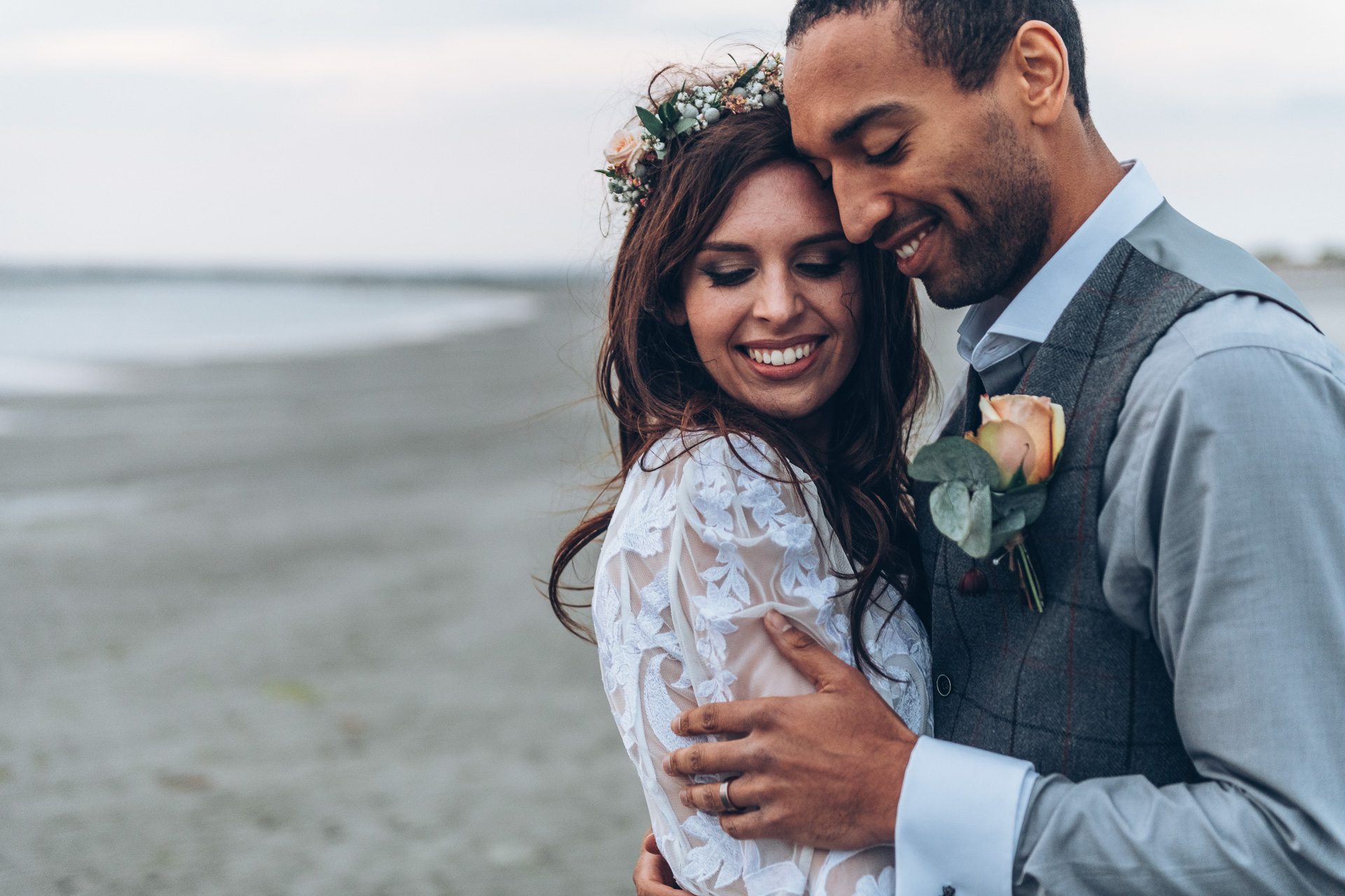 Bohemian Beach Wedding 147