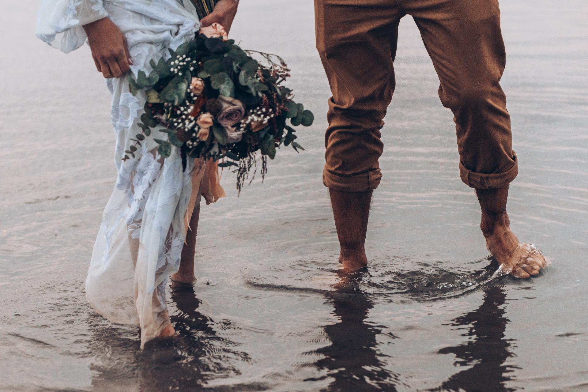 Bohemian Beach Wedding 150