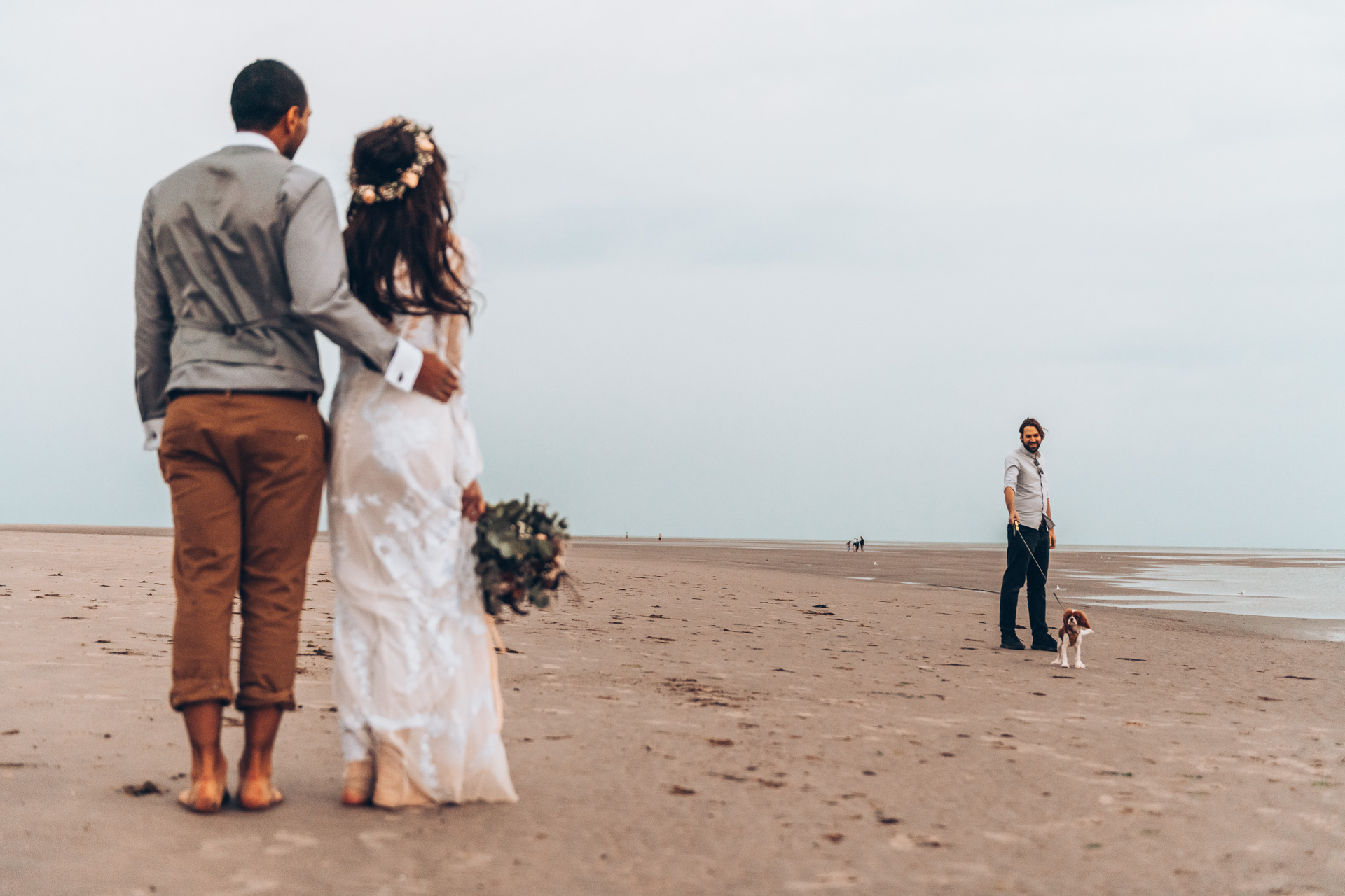 Bohemian Beach Wedding 151