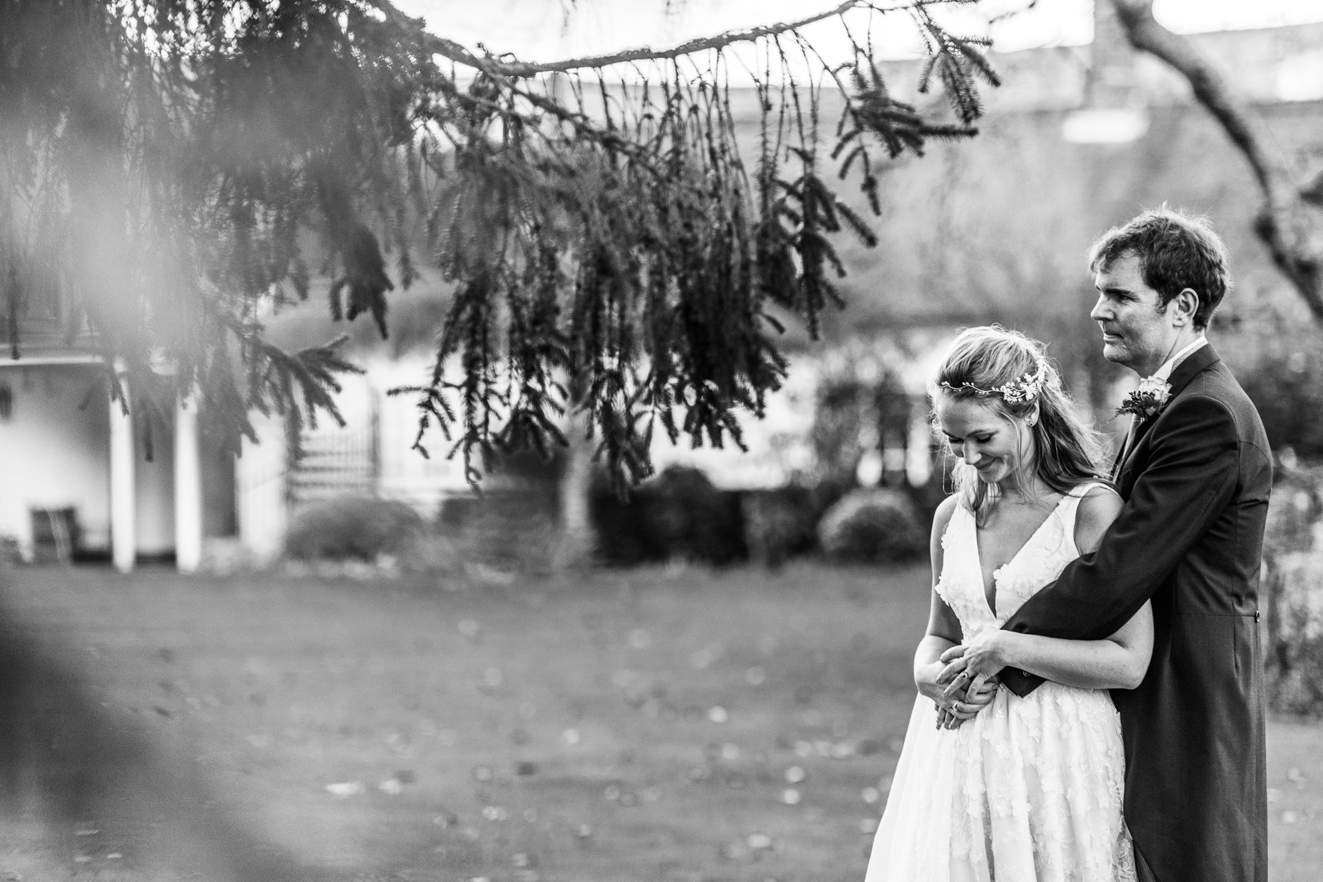Small intimate winter wedding.