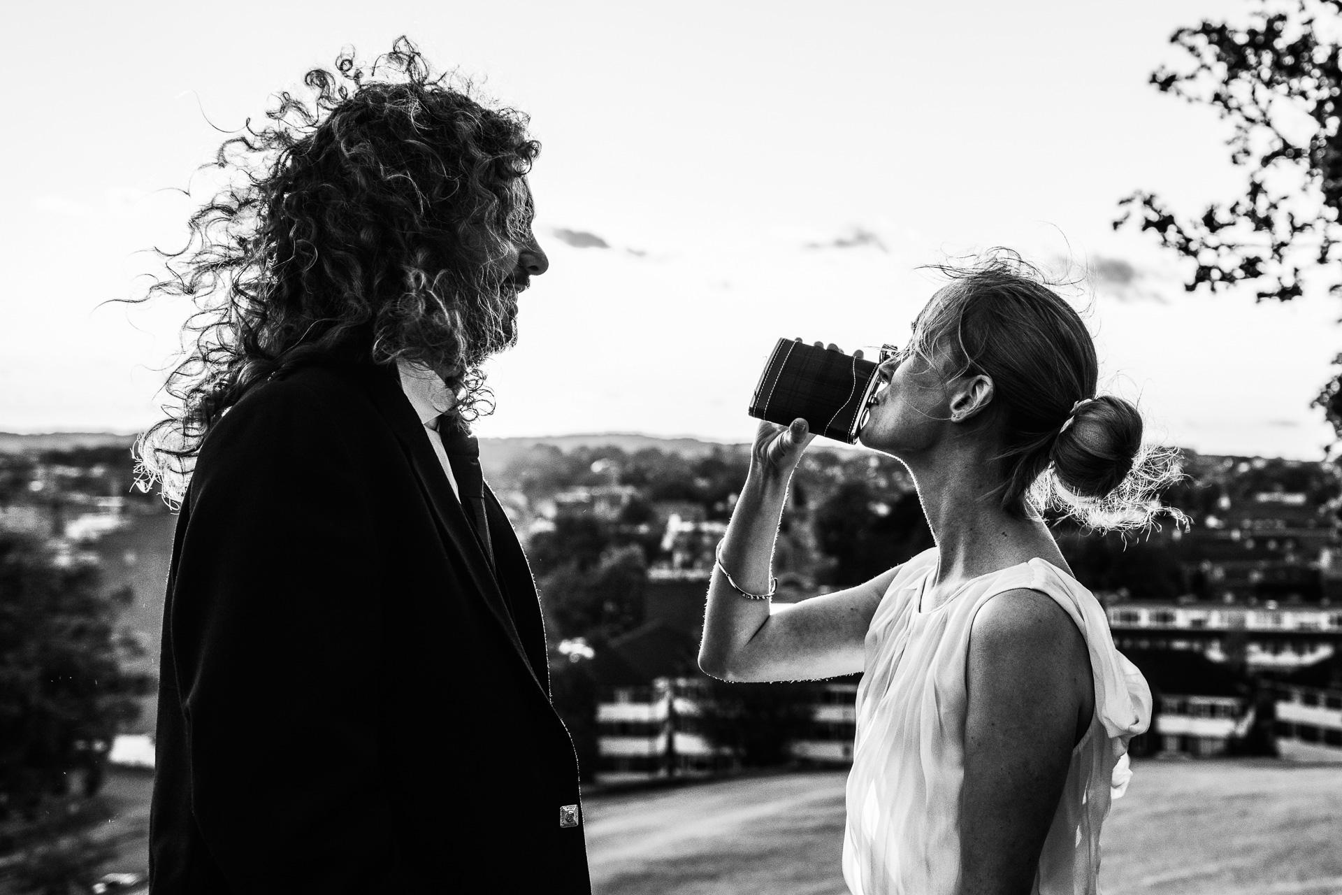 Reportage small wedding