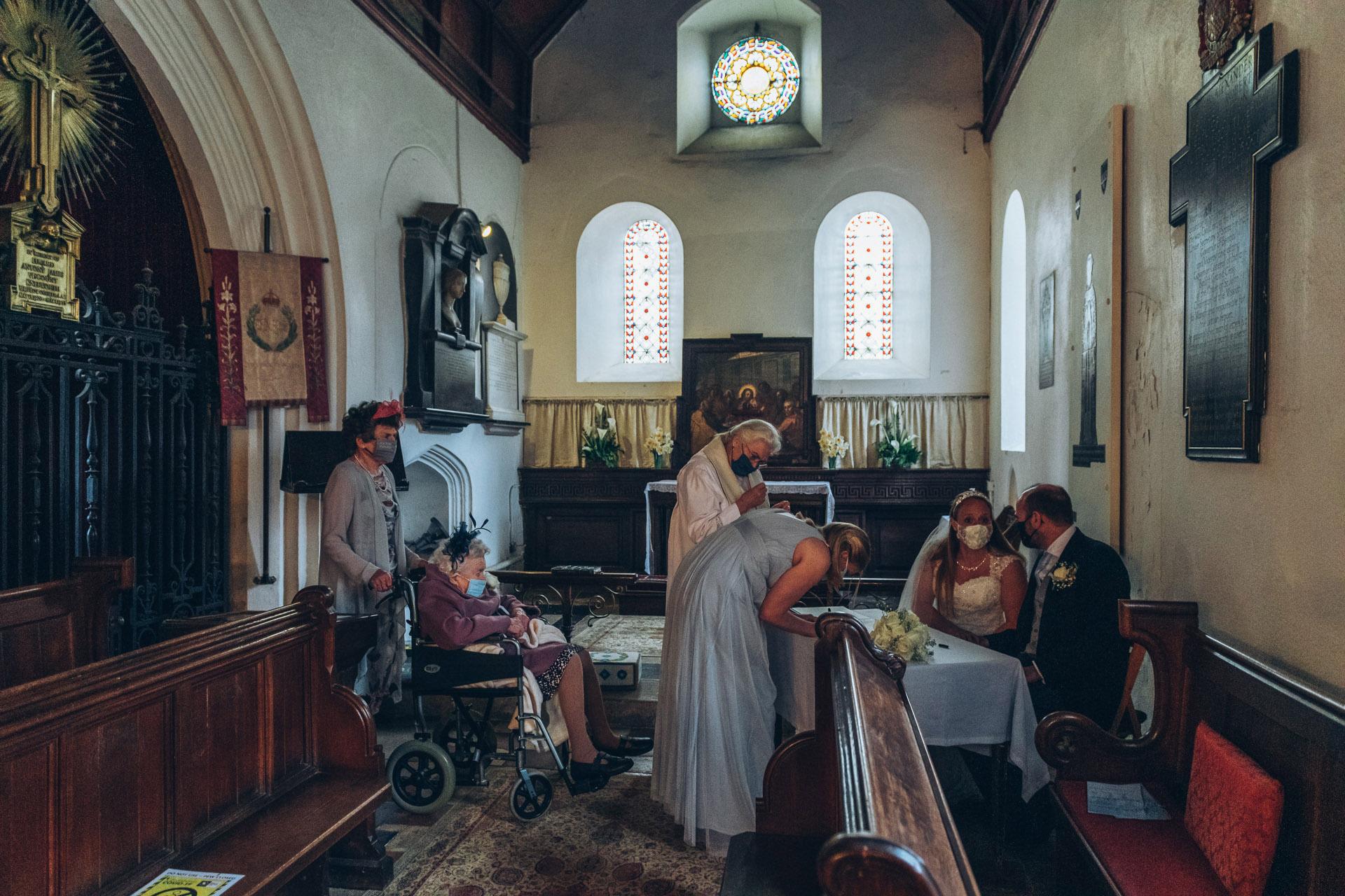32 Small weddings Hertfordshire