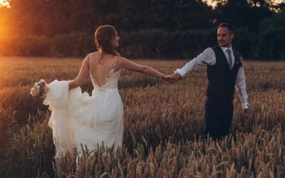 Super hot summer pandemic wedding –  Part Three, the party.