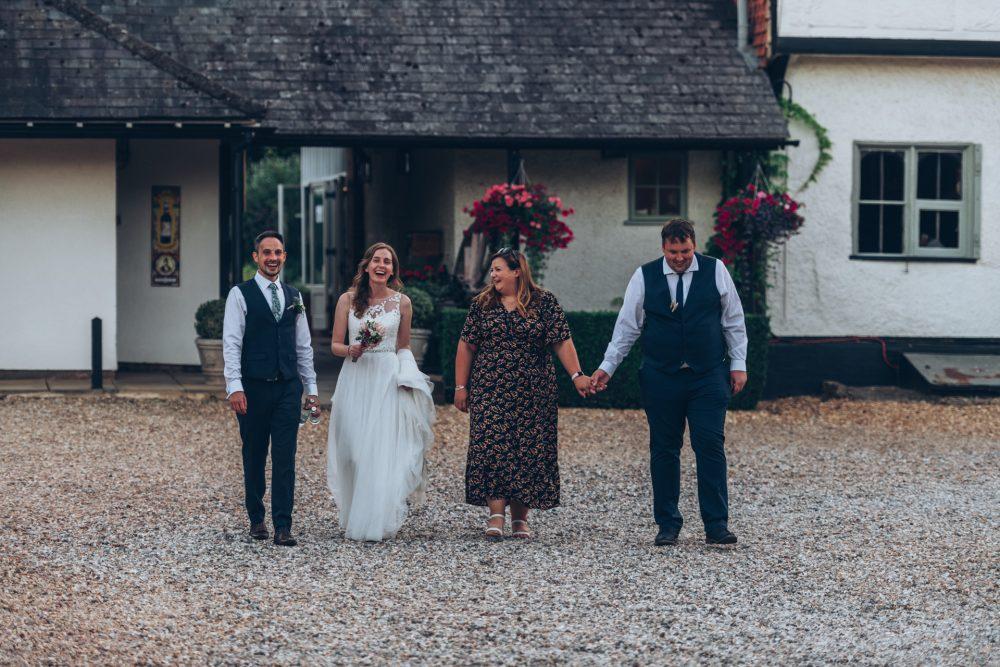 Farmhouse at Redcoats Wedding 108