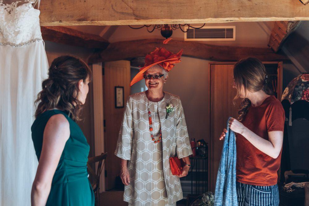Farmhouse at Redcoats Wedding 15