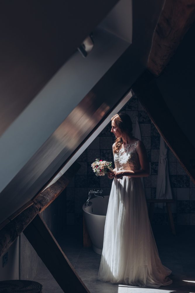 Farmhouse at Redcoats Wedding 18
