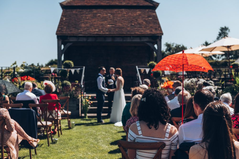 Farmhouse at Redcoats Wedding 34