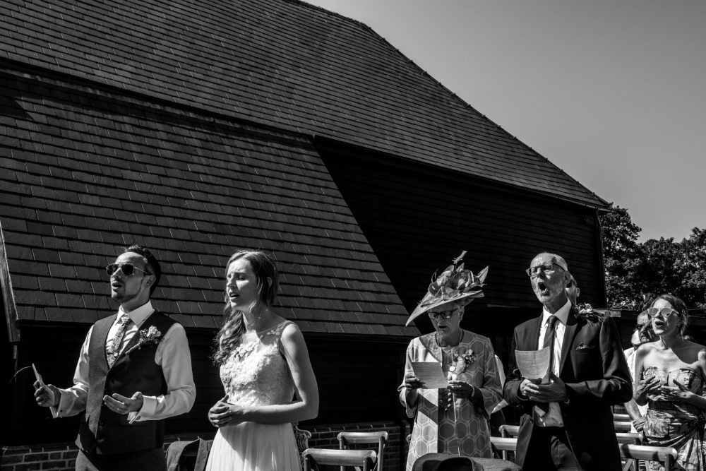 Farmhouse at Redcoats Wedding 44