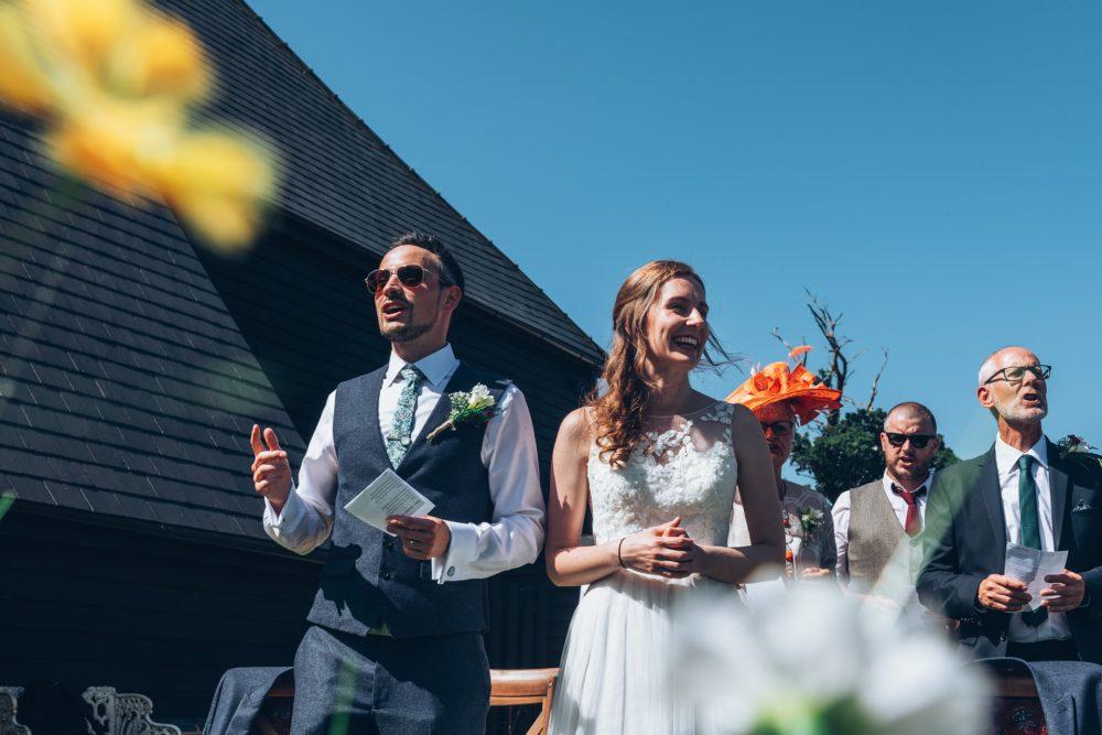 Farmhouse at Redcoats Wedding 45