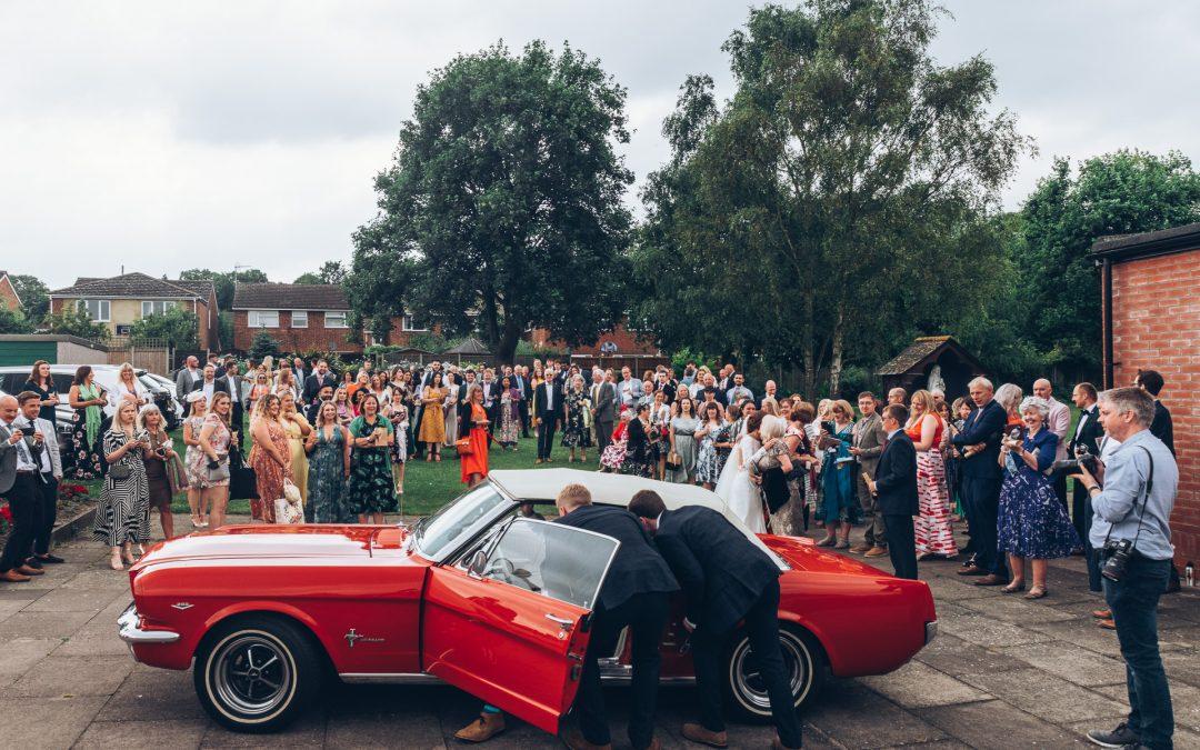 Music Filled Letchworth Tipi Wedding