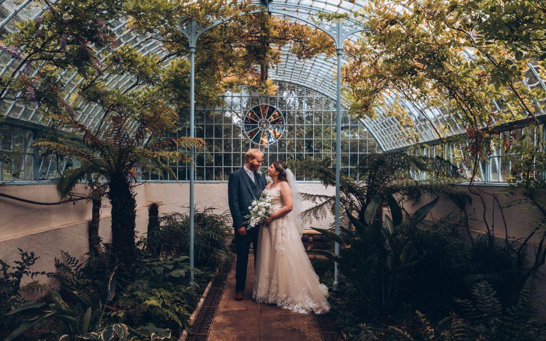 Bedfordshire Wedding at Shuttleworth Swiss Garden